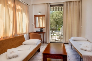 Standard family room, Pyrgos hotel in Ouranoupoli of halkidiki nearby beach