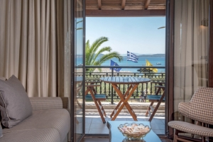 Standard double room, Pyrgos hotel in Ouranoupoli of halkidiki nearby beach
